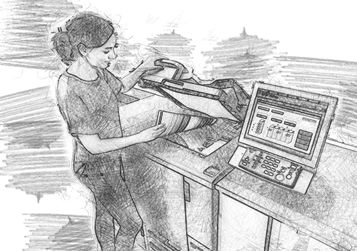 Xerox Alb Negru A4 A3 Carti - Europaper Brasov Centru Copiere Printare