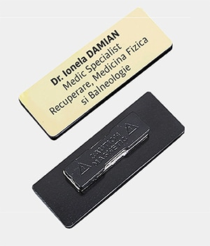Ecusoane cu Magnet Gravate Laser - Europaper Brasov Centru Copiere Printare