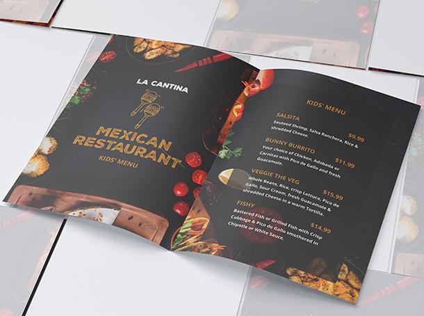 Tipar Meniu Restaurant Bar Pizzerie, Localuri - Europaper Brasov Centru Copiere Printare