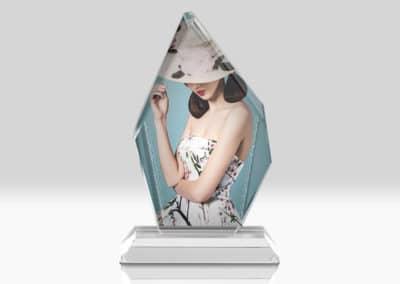 Placa Cristal Personalizata BSJ-10A Europaper Brasov Centru Copiere Printare