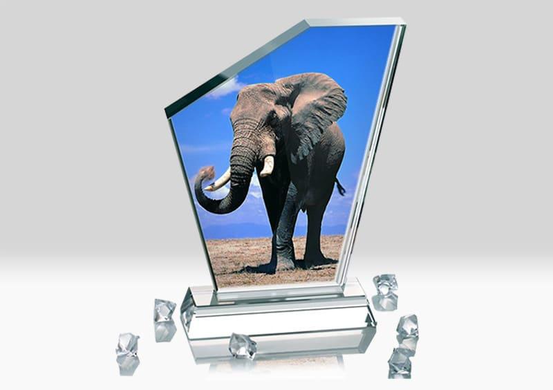 Placa Cristal Personalizata BSJ-11 Europaper Brasov Centru Copiere Printare