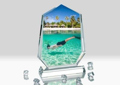 Placa Cristal Personalizata BXP-01 Europaper Brasov Centru Copiere Printare