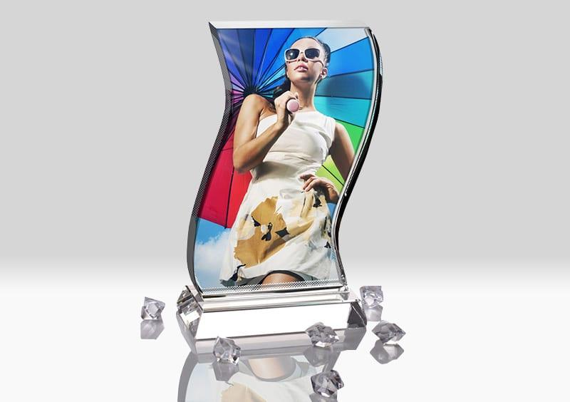 Placa Cristal Personalizata BXP-05 Europaper Brasov Centru Copiere Printare