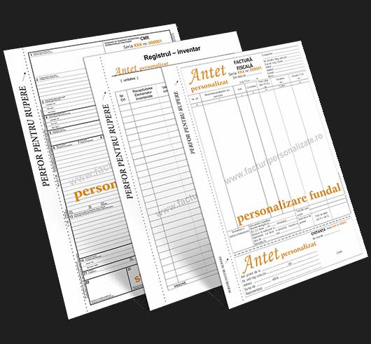 Facturi personalizate - Tipizate personalizate Brasov  Europaper Brasov Centru Copiere Printare