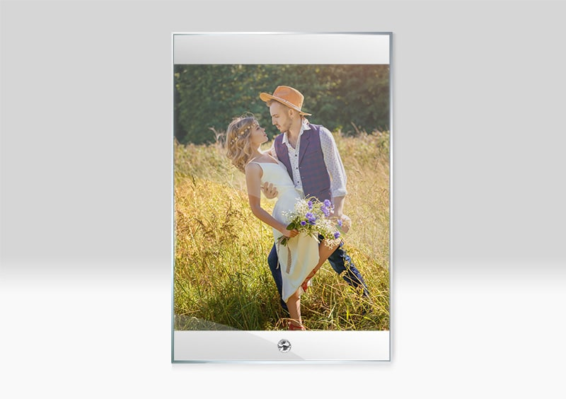 Rama Foto Personalizata Sticla Sublimare BL 03 -Europaper Brasov - Centru de printare