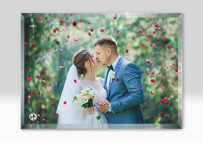 Rama Foto Personalizata Sticla Sublimare BL 05 -Europaper Brasov - Centru de printare