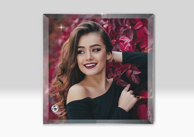 Rama Foto Personalizata Sticla Sublimare BL 25 -Europaper Brasov - Centru de printare