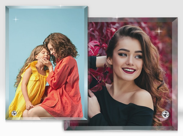 Rama Foto Personalizata Sticla Sublimare Europaper Brasov Centru Copiere Printare