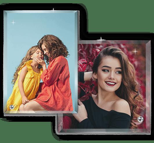 Rama Foto Personalizata Sticla Sublimare