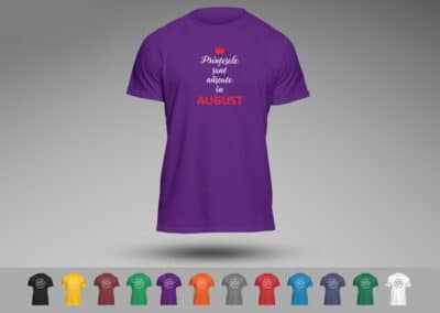 Tricouri Personalizate Aniversare Brasov Printesele Sunt Nascute in August - Europaper Brasov