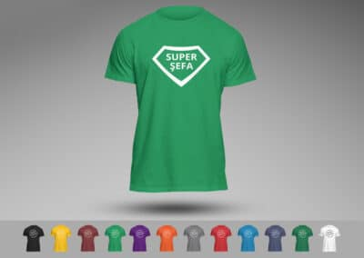Tricouri Personalizate Aniversare Brasov Super Sefa - Europaper Brasov