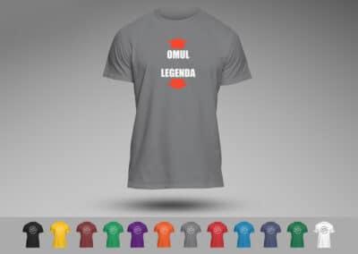 Tricou Personalizat Funny - Omul Legenda - Europaper Brasov