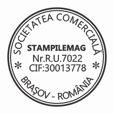 Model 1 Stampile firme personalizate -Europaper Brasov