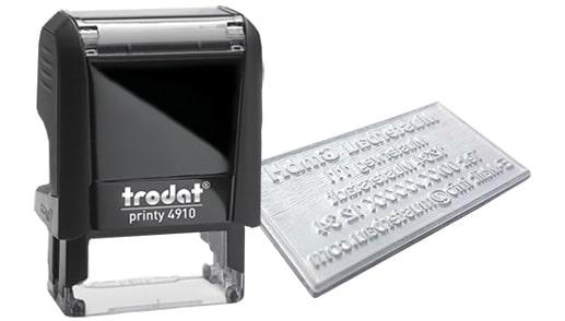 Amprenta Stampila Trodat 4910 -Europaper Brasov Centru Print