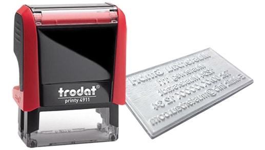 Amprenta Stampila Trodat 4911 -Europaper Brasov Centru Print