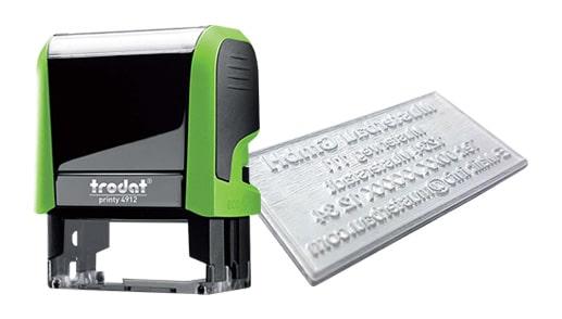 Amprenta Stampila Trodat 4912 -Europaper Brasov Centru Print