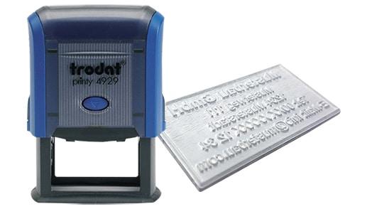 Amprenta Stampila Trodat 4929 -Europaper Brasov Centru Print