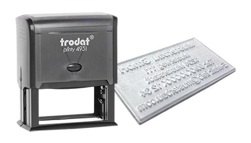 Amprenta Stampila Trodat 4931 -Europaper Brasov Centru Print