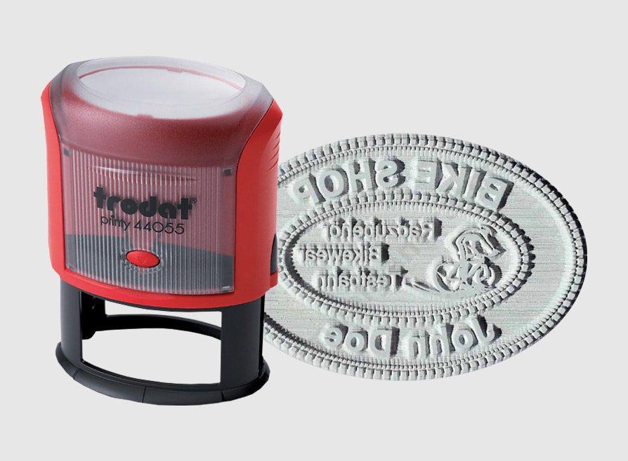Amprente Stampile Ovale Trodat 44045 -Europaper Brasov  Stampile firme