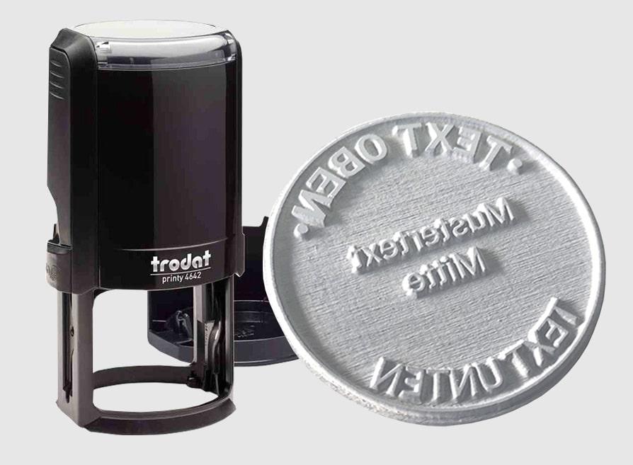 Amprente Stampile Rotunde Trodat 46042 - Europaper Brasov Stampile firme