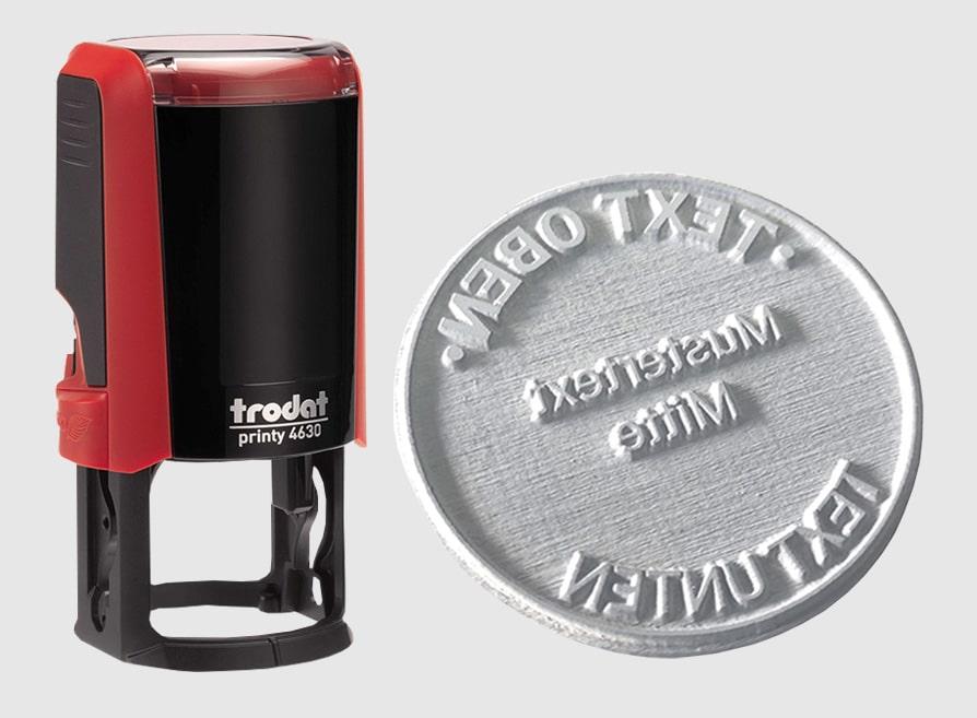 Amprente Stampile firme Rotunde Trodat 4630 -Europaper Brasov Centru Print