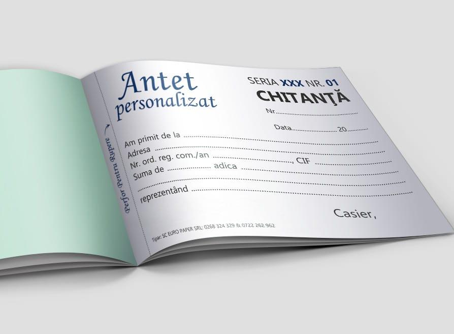 Chitante Personalizate - Facturi personalizate Brasov - Europaper Brasov Centru Print