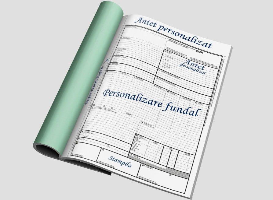 CMR Personalizat - Facturi personalizate Brasov - Europaper Brasov Centru Print
