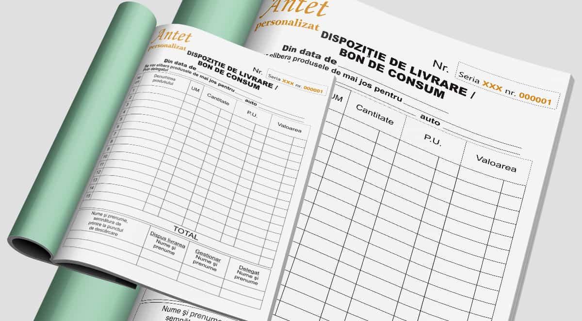Dispozitie de Livrare – Bon consum - Tipizate personalizate Brasov - Europaper Brasov Centru Print