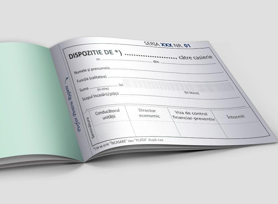 Dispozitie de plata personalizata - Facturi personalizate Brasov - Europaper Brasov Centru Print