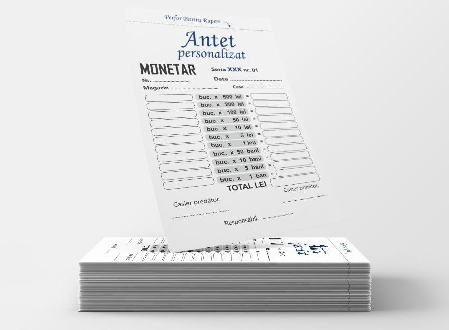 Monetare personalizate - Facturi personalizate Brasov - Europaper Brasov Centru Print