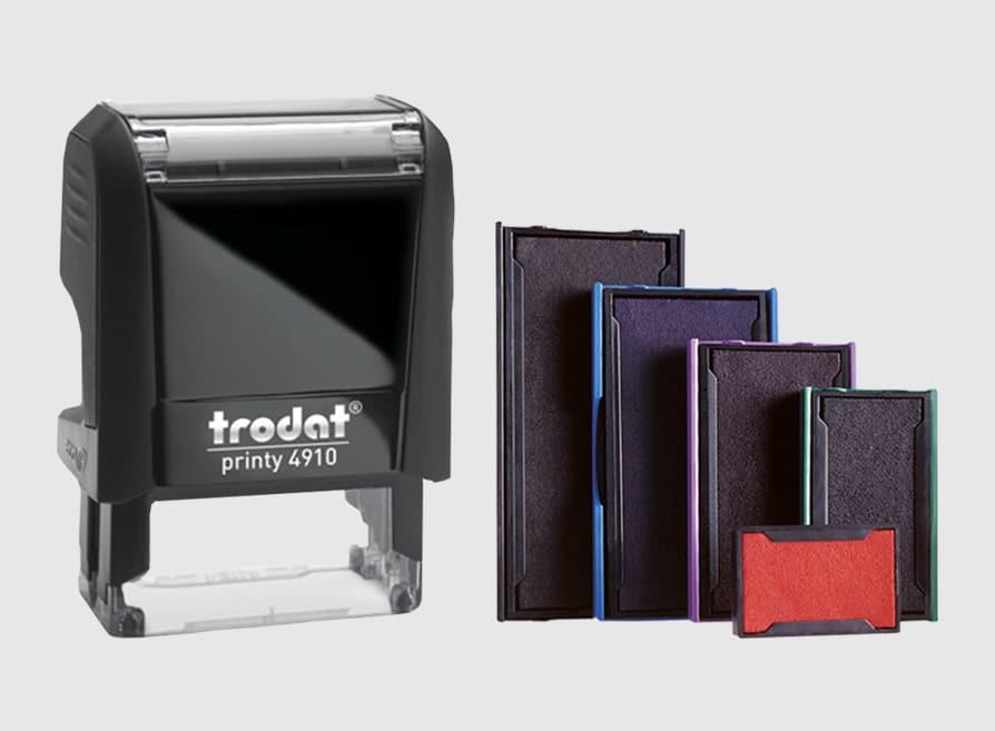 Tusiere Stampile Dreptunghiulare de Birou Trodat 4910 - Stampile Personalizate Brasov