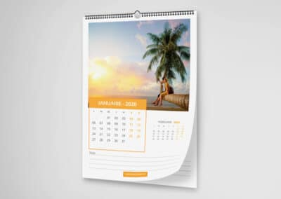Calendar de Perete Bussines Personalizat -Europaper Brasov - Centru de printare