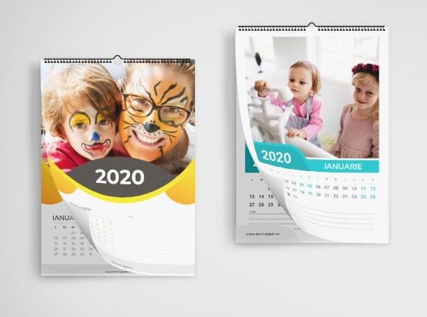 Calendare Personalizate de Familie - Europaper Brasov - Centru de printare