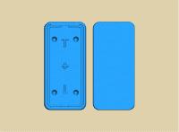Mold carcasa telefon Presa Termica 3D Vaccum ST-3042