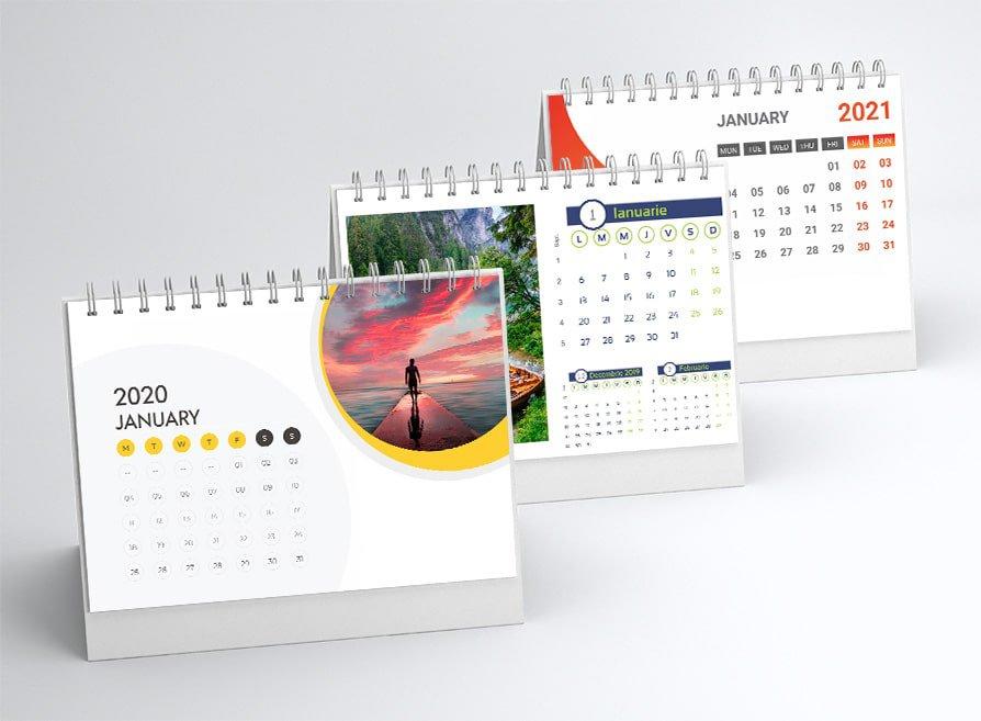 Calendare Personalizate de birou