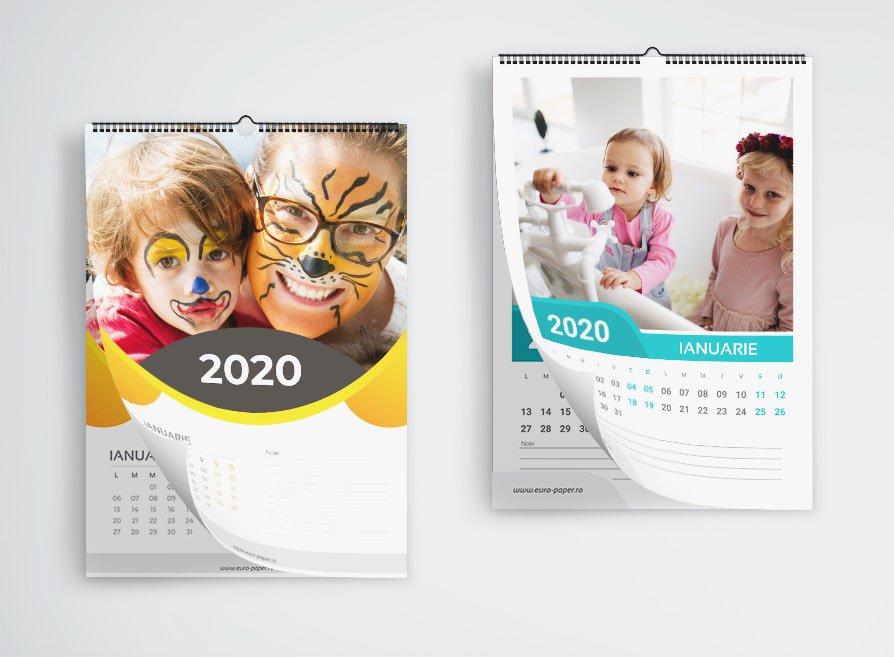 Calendare Personalizate 12 poze personale