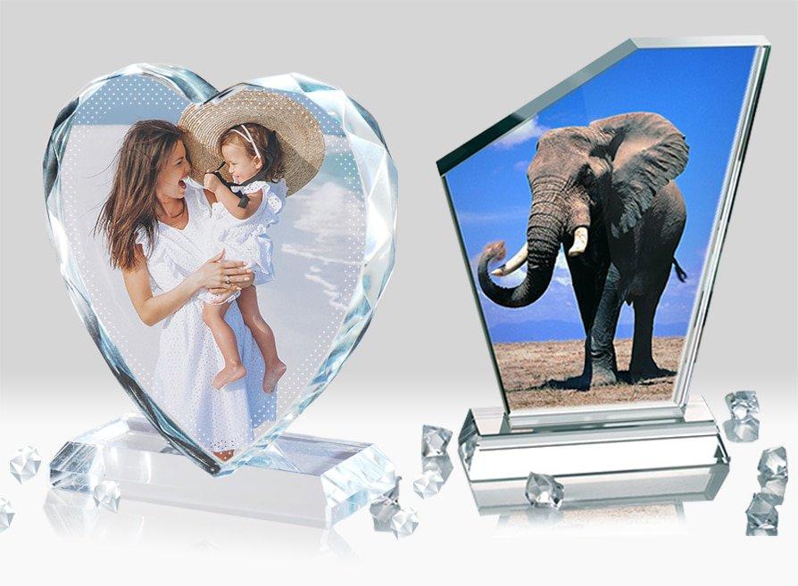 Rama foto cristal personalizat Brasov Europaper