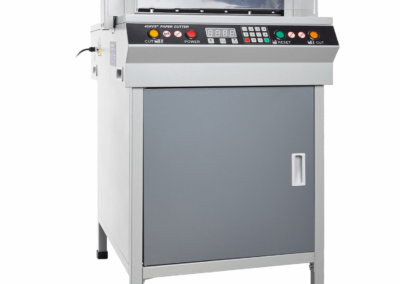 Ghilotina electrica UNITEC 450VS cu comanda digitala - Europaper Brasov - Utilaje Finisare Print