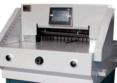 Ghilotina electrica profesionala UNITEC E520 - Europaper Distributie Utilaje