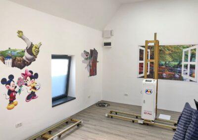 Imprimanta de perete 3D model Q7+ - Europaper Brasov - Utilaje Print