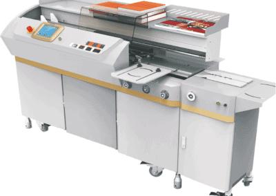 Masina brosat BOWAY BW988Z5 - Masina de brosat semiautomata cu termoclei - Europaper Brasov - Utilaje Finisare Print