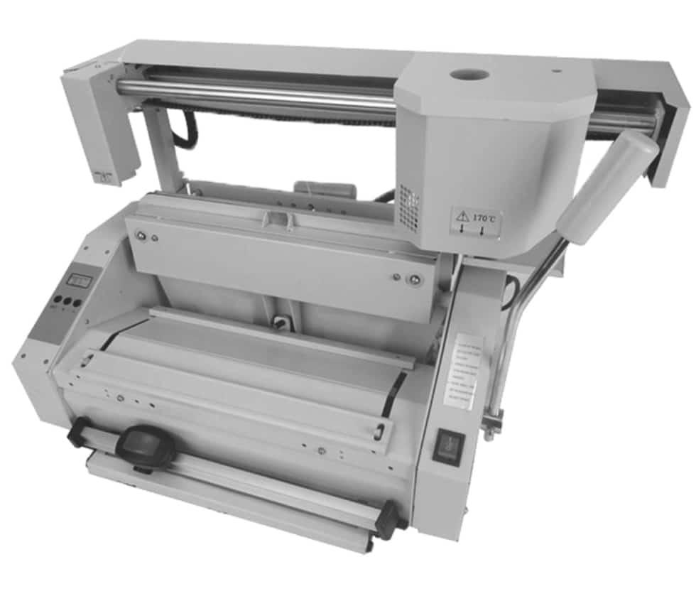 Masina brosat SUPU PB220 - Masina de brosat manuala cu termoclei - Europaper Brasov - Utilaje brosare carte
