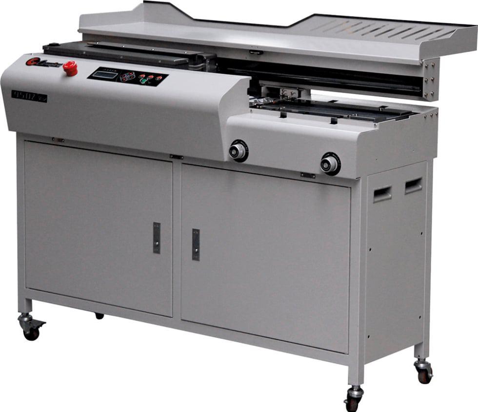 Masina brosat BOWAY BW950Z - Masina de brosat semiautomata cu termoclei - Europaper Brasov - Utilaje finisare print