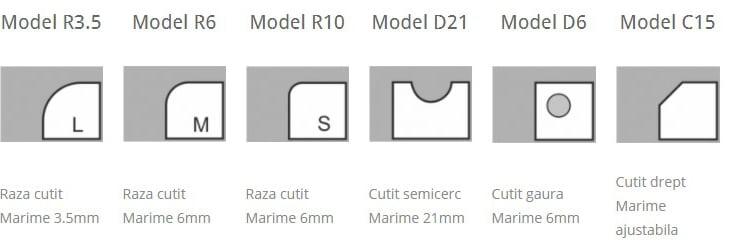 Modele cutit-Masina rotunjit colturi S100 - Europaper Brasov - Utilaje Finisare Print