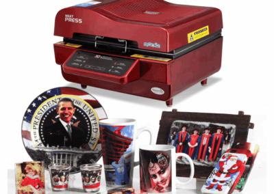 Presa termica 3D ST3042 - Europaper Brasov - Utilaje Finisare Print