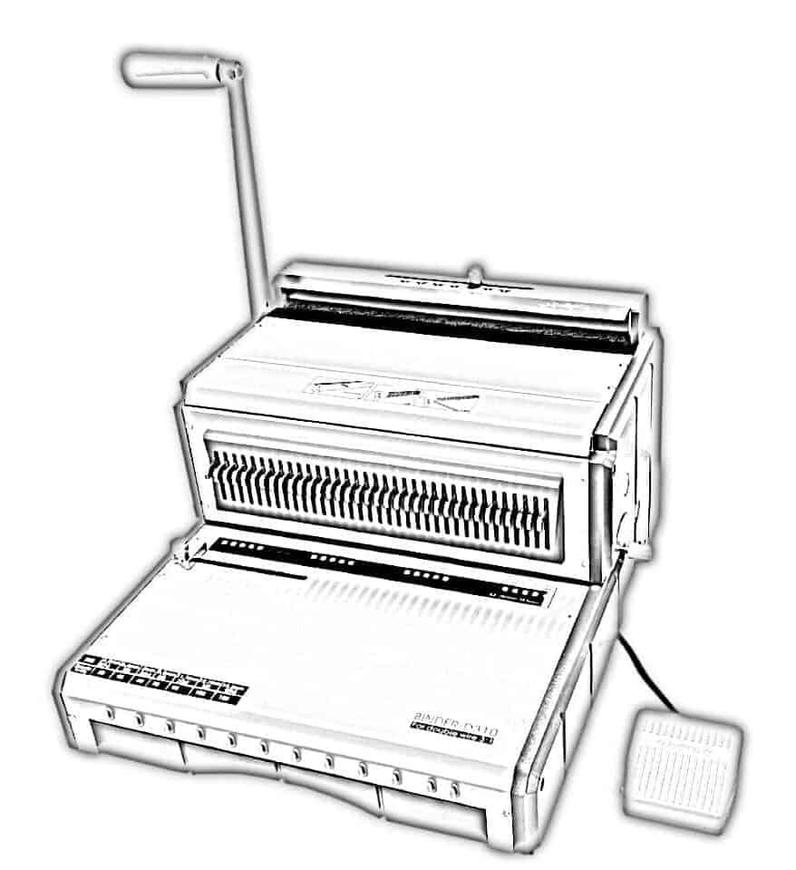metal spiral filing machine