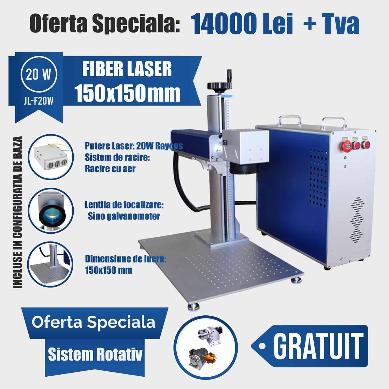 fiber laser 20w mobil