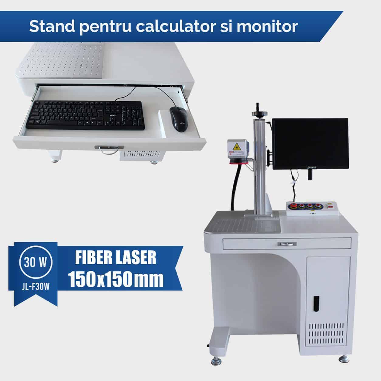fiber laser 30w pentru metale aur argint
