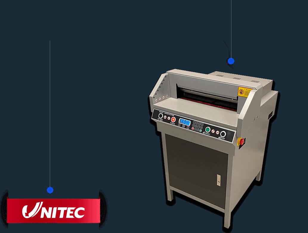 ghilotina unitec 450vs+ cu control numeric