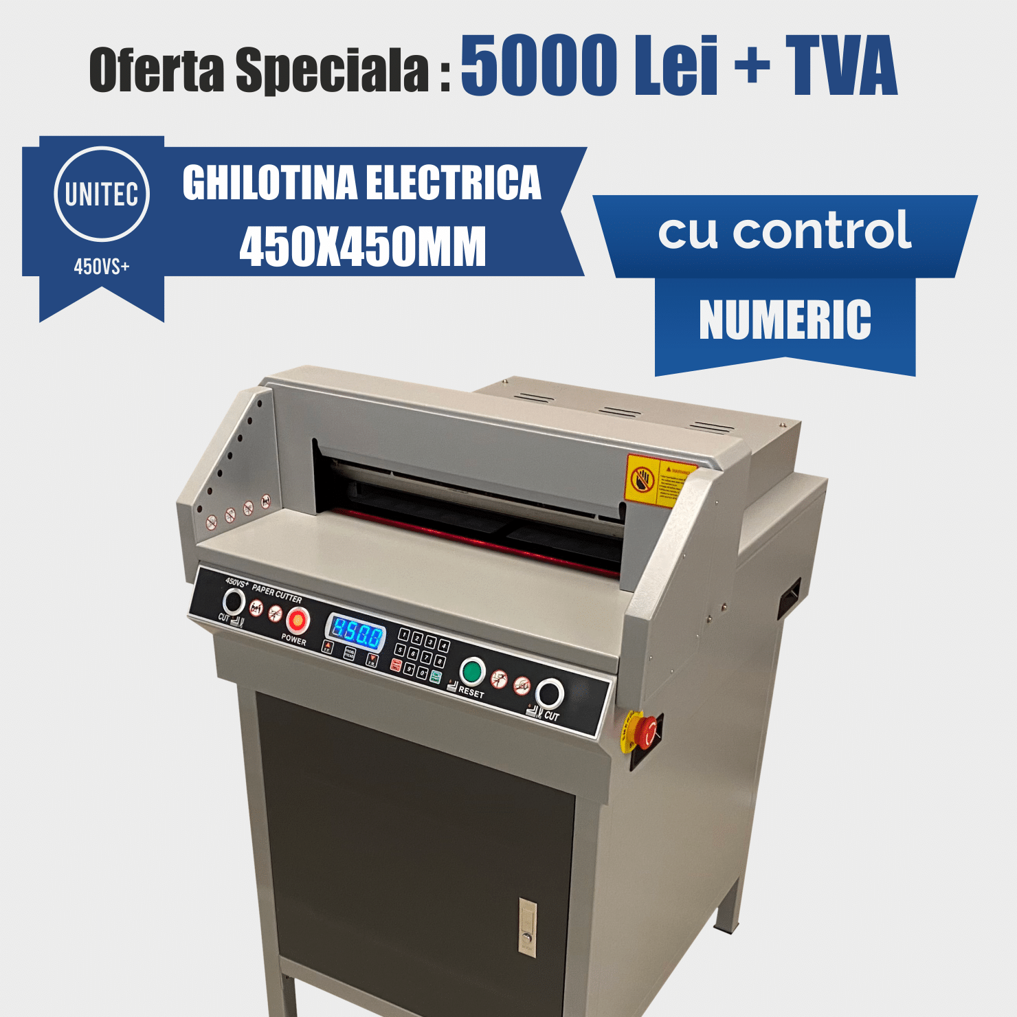 ghilotina electrica 450vs